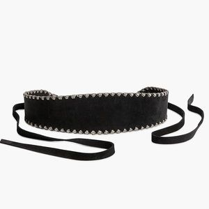 Accessories - ▪️HP/Suede Studded Wrap Belt
